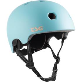 TSG Meta Solid Color Helm satin blue tint